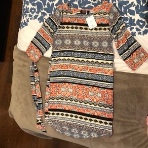 NWT Renee C. Boho Print Dress